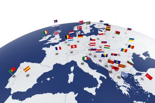 Europa auf dem Weg zur Fußball EM 2016